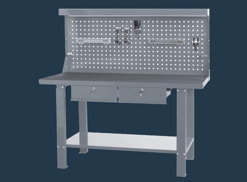 TSC5911J  Schwerer Werktisch mit Rückwand